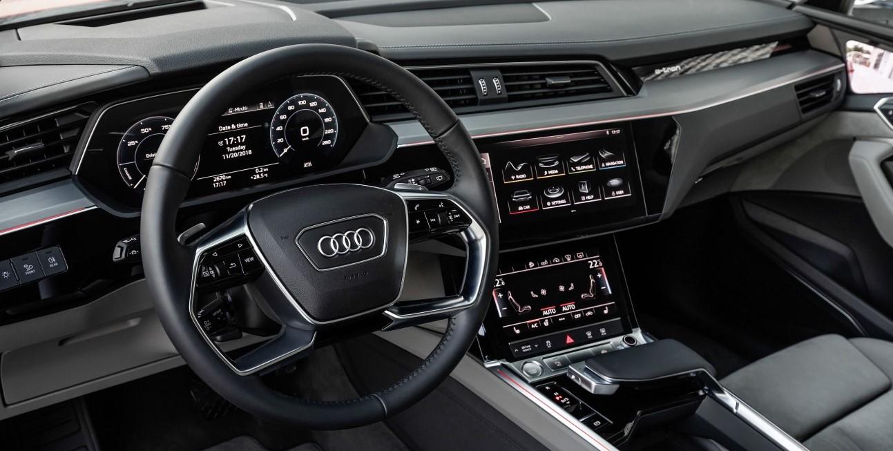 2020 Audi E Tron Interior