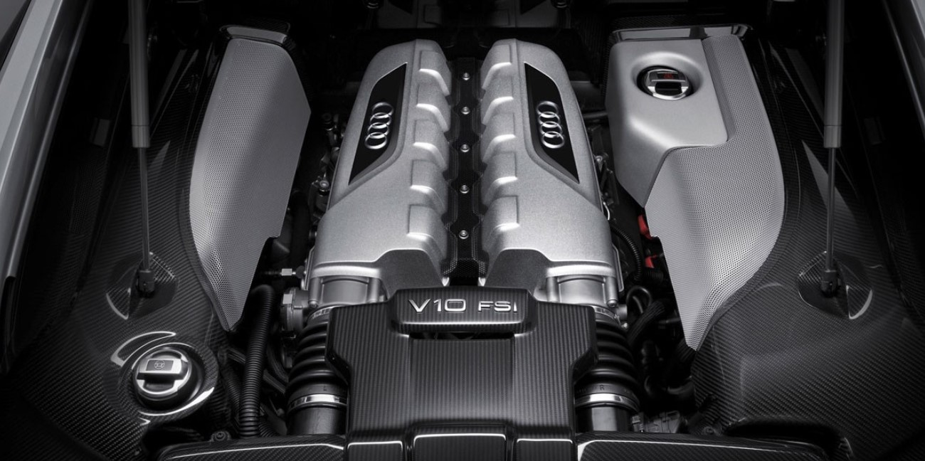 2020 Audi R8 Engine