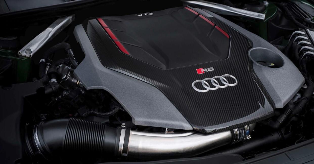 2020 Audi RS5 Engine