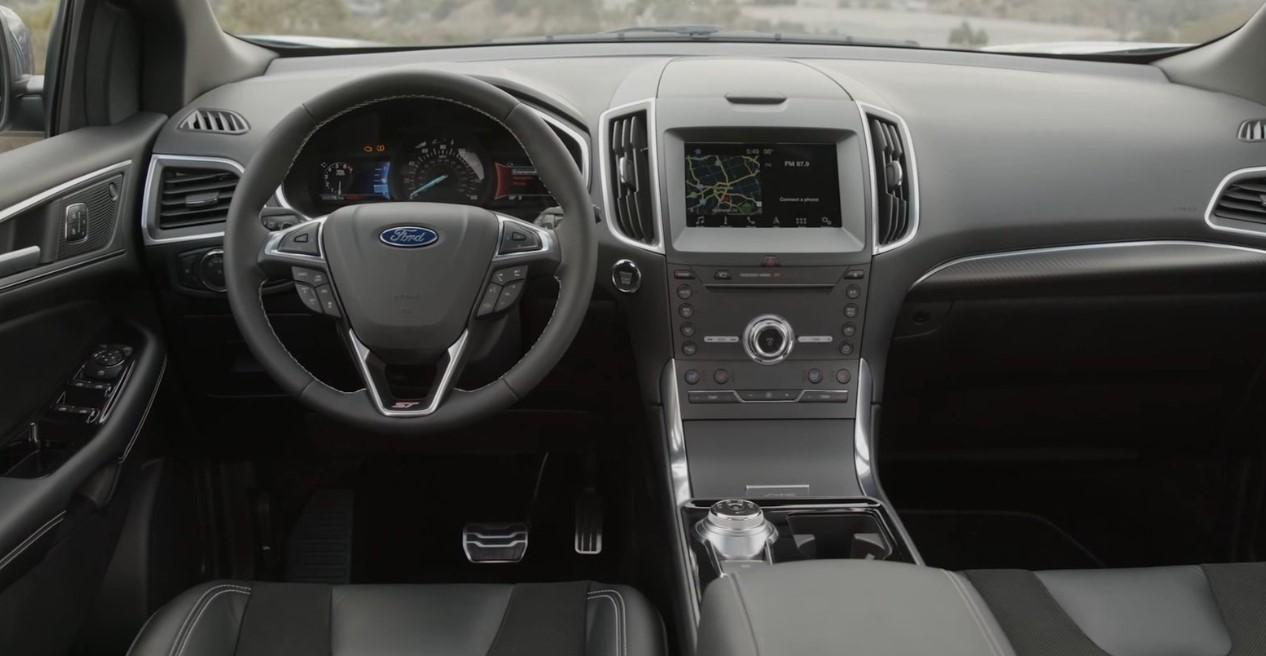 2020 Ford Edge ST Interior