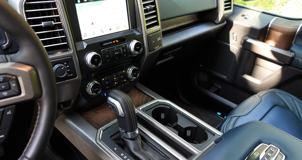 2020 Ford F 150 Platinum Interior