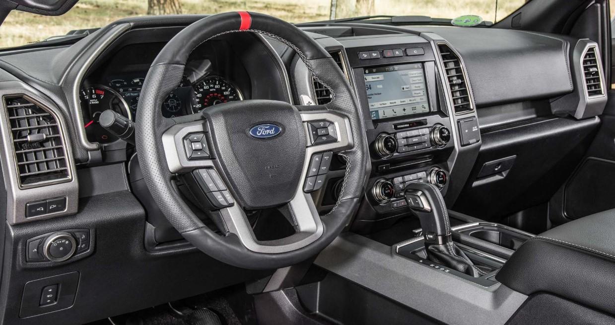 2020 Ford F 150 Raptor Interior