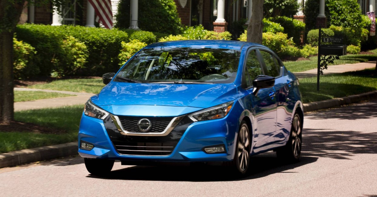 2020 Nissan Sunny Exterior