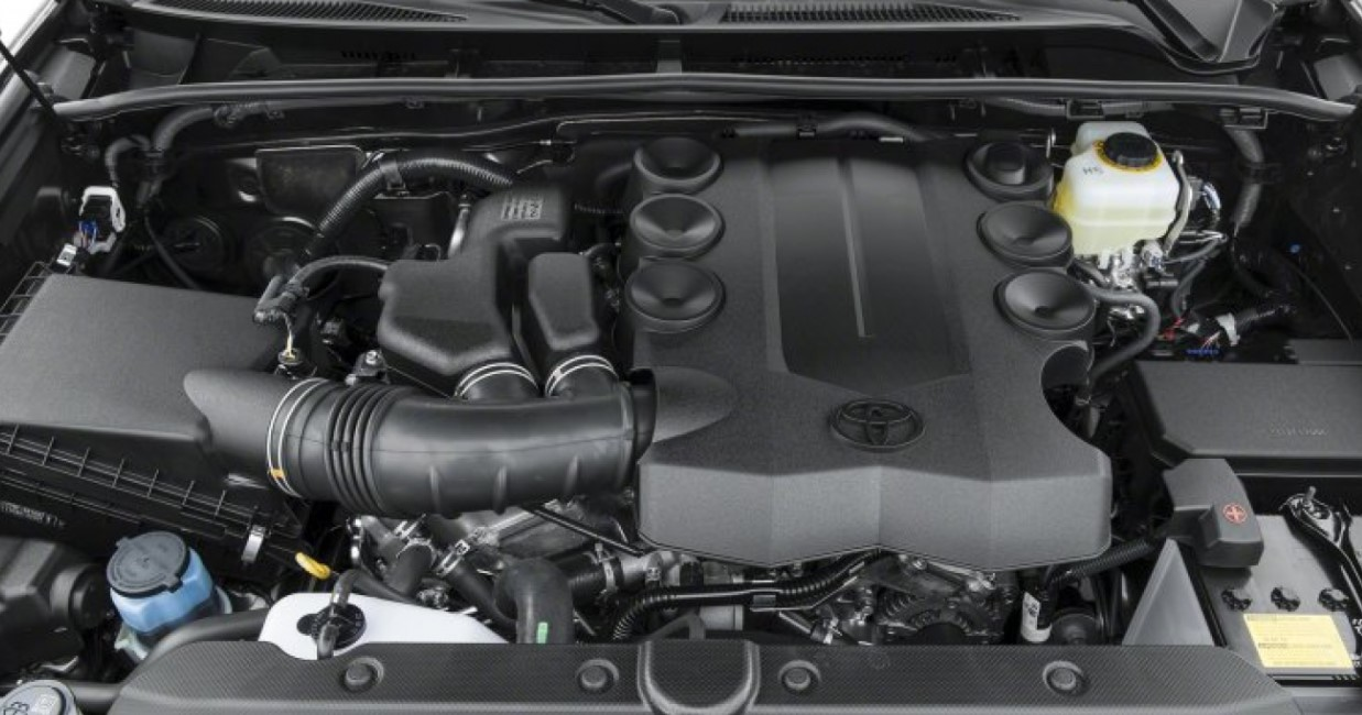 2020 Toyota 4Runner TRD Pro Engine
