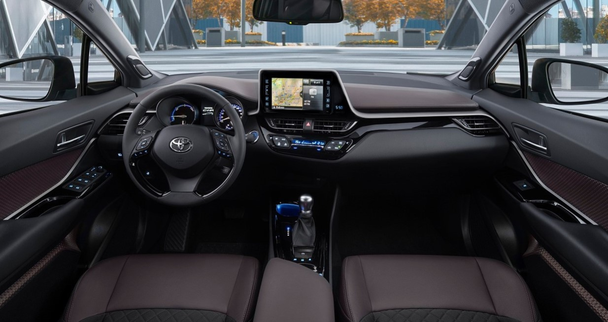 2020 Toyota CHR Interior