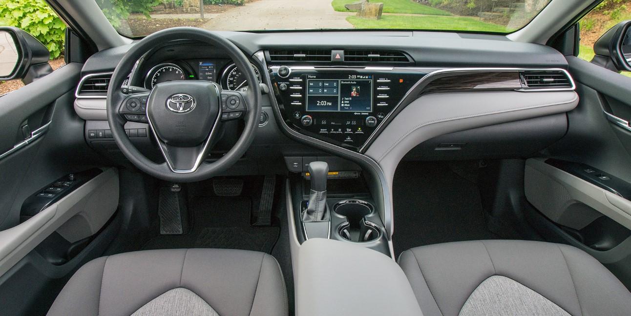 2020 Toyota Camry Hybrid Interior