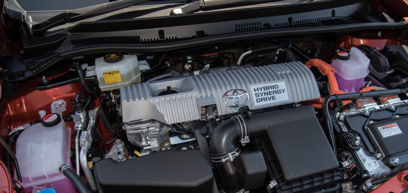 2020 Toyota Corolla Engine