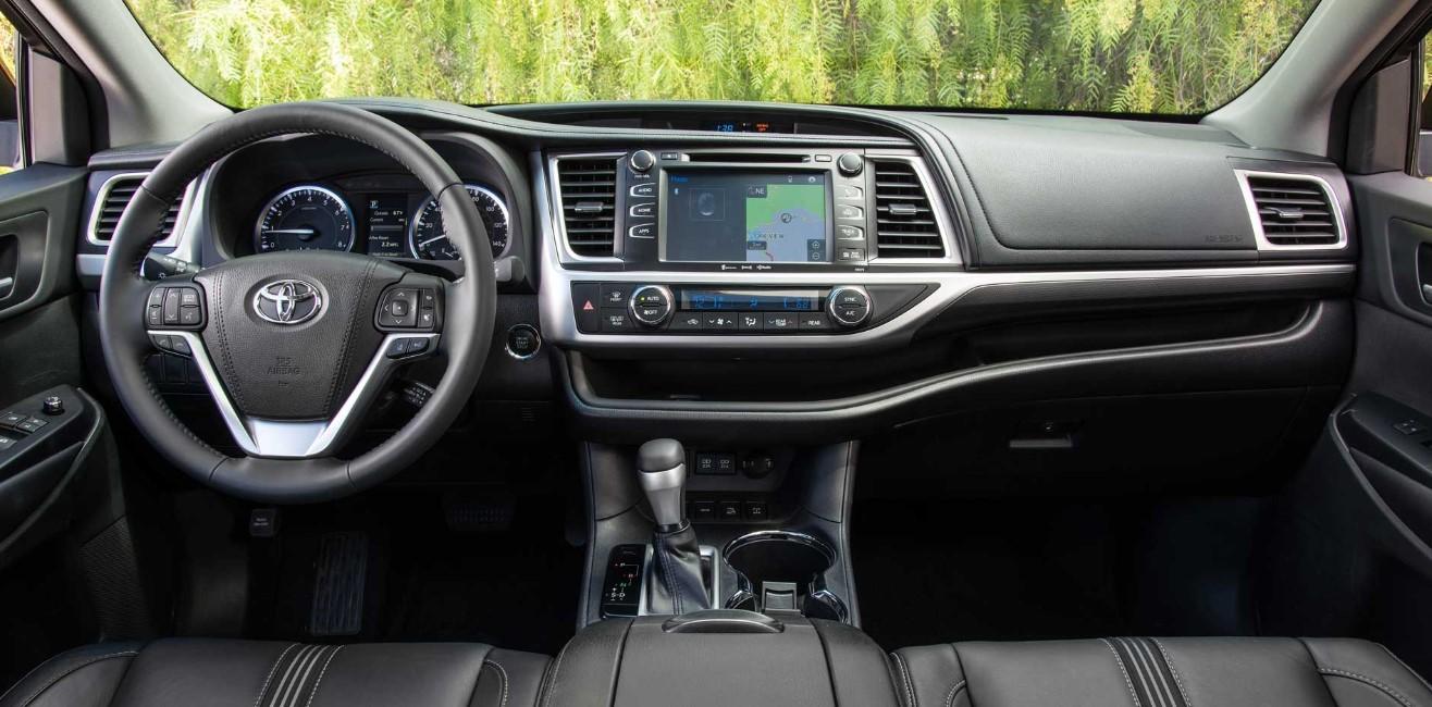 2020 Toyota Highlander Dimensions Interior