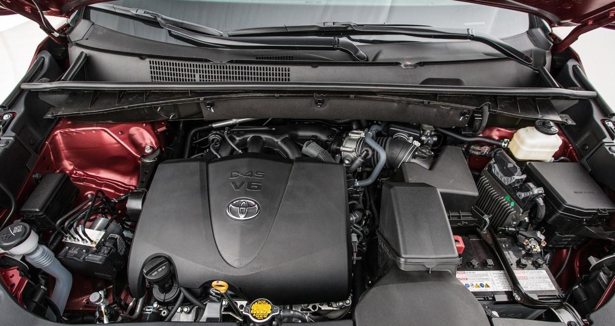 2020 Toyota Highlander Engine