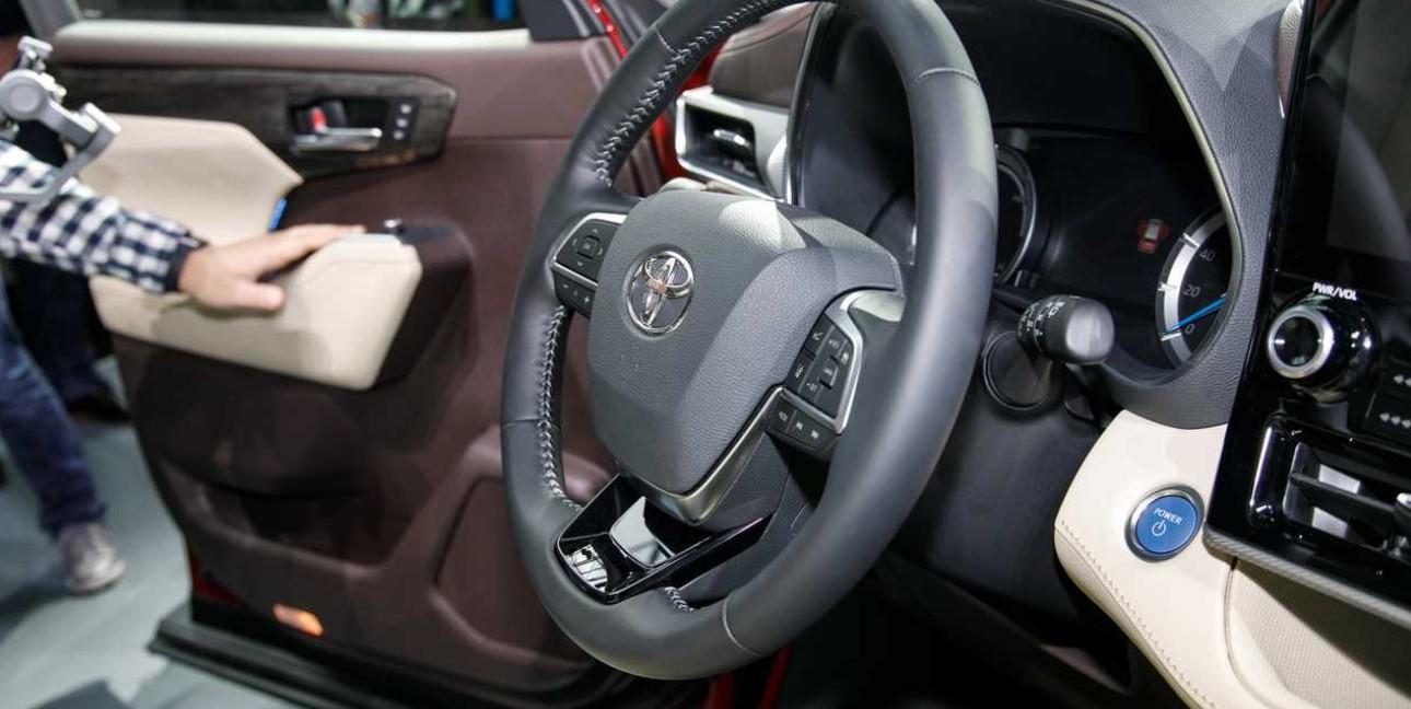 2020 Toyota Kluger Interior