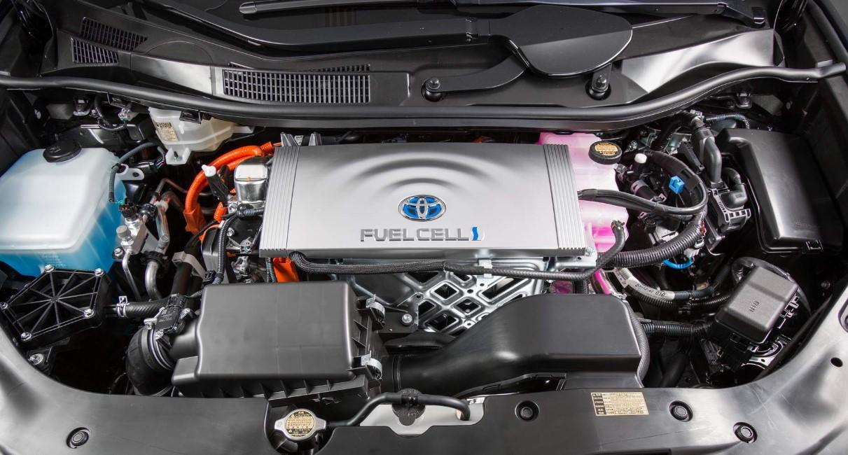 2020 Toyota Mirai Engine