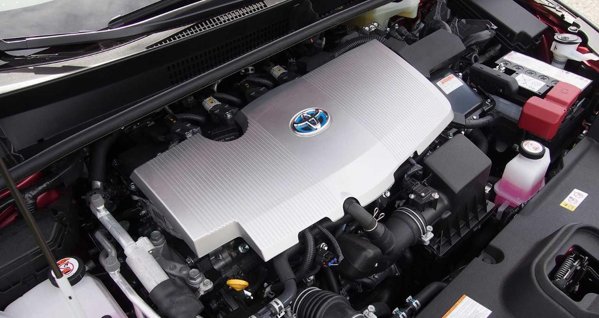 2020 Toyota Prius C Engine