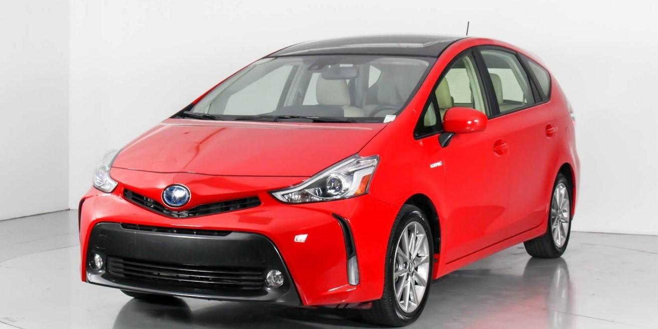 2020 Toyota Prius V Exterior
