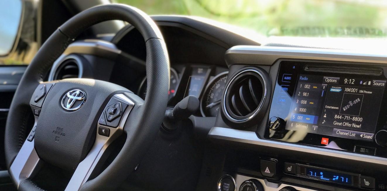 2020 Toyota Tacoma Pro Interior