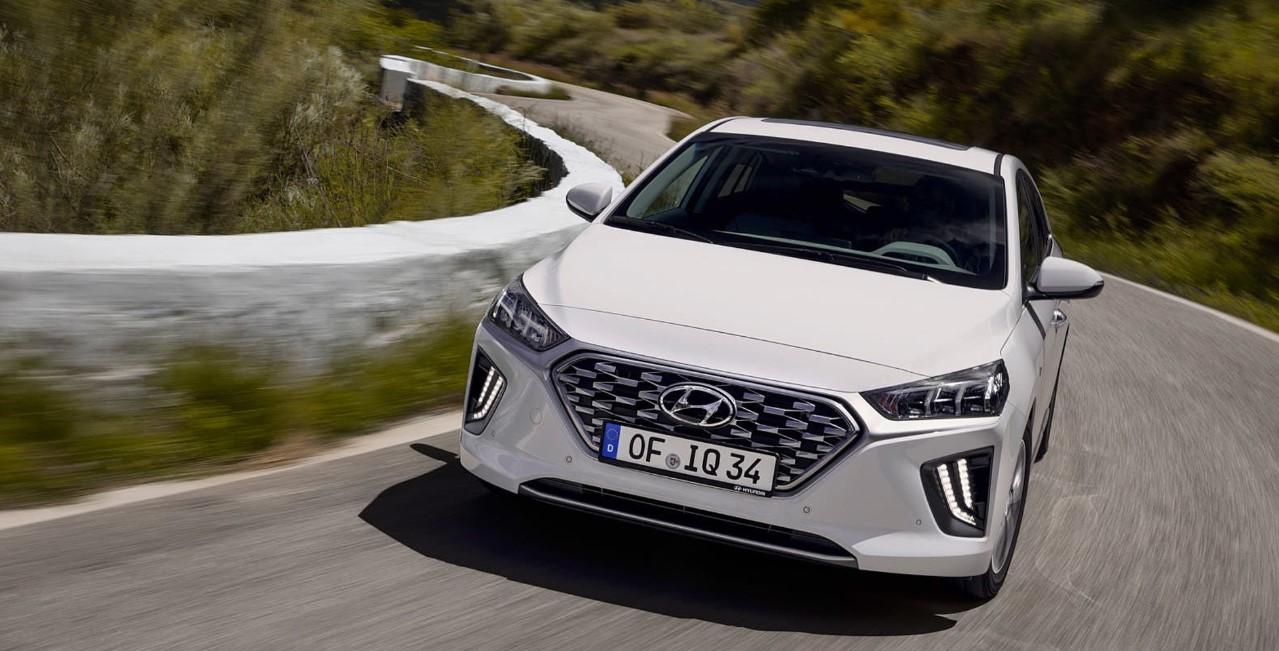2021 Hyundai Ioniq Exterior