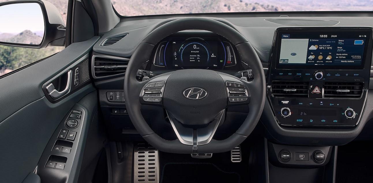 2021 Hyundai Ioniq Interior