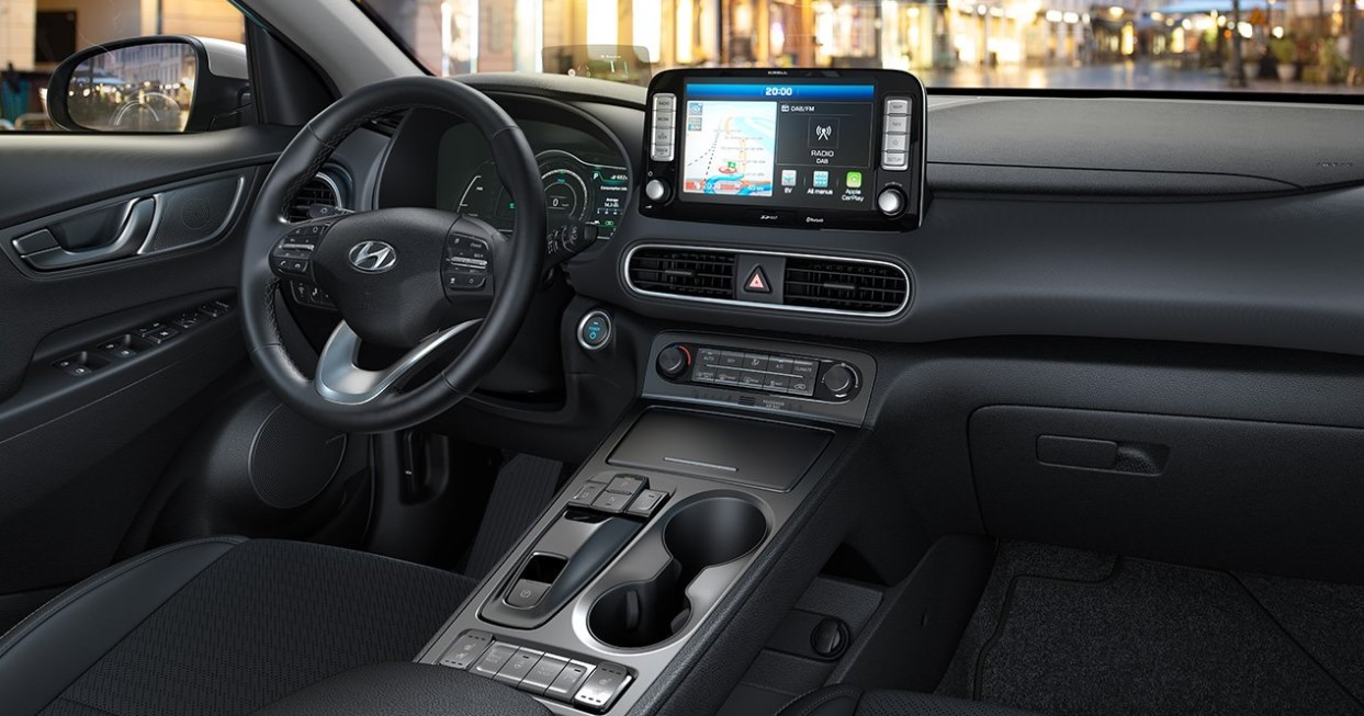2021 Hyundai Kona EV Interior