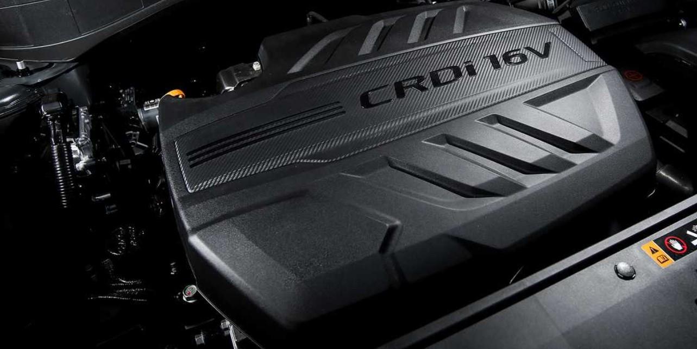 2021 Hyundai Palisade Engine