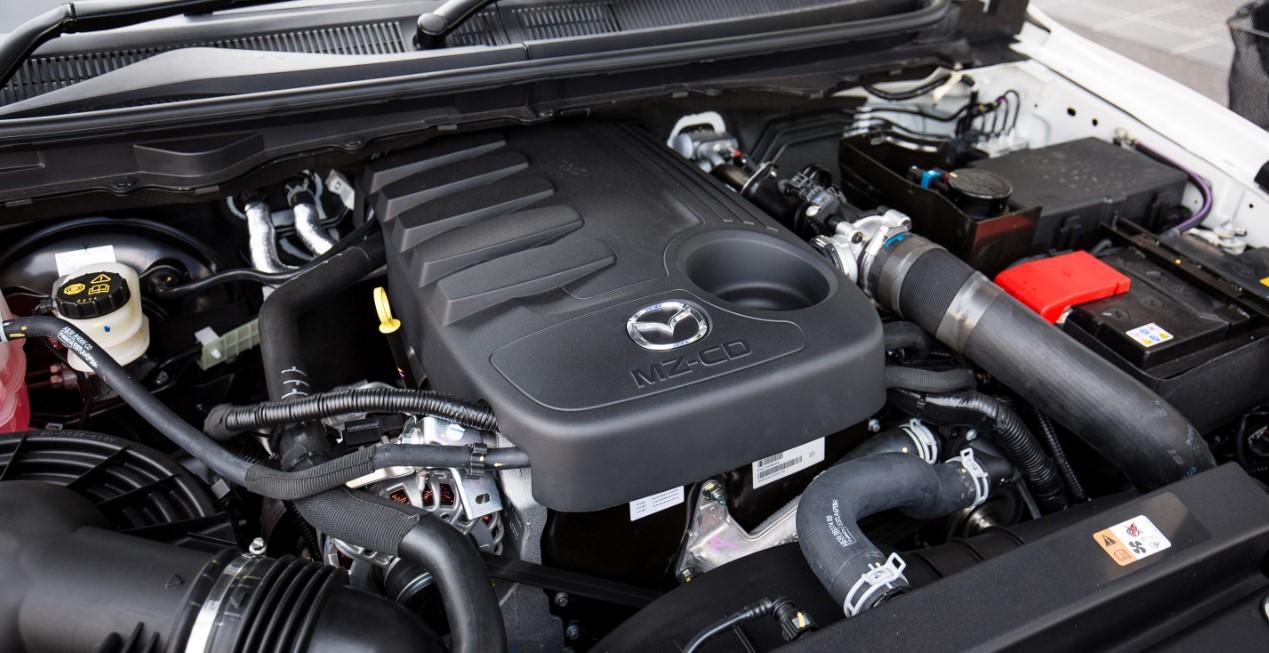 2021 Mazda BT50 Engine