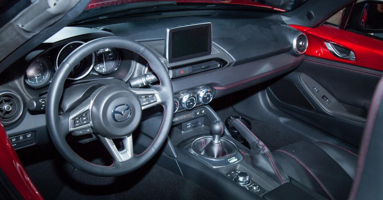 2021 Mazda MX-5 Interior