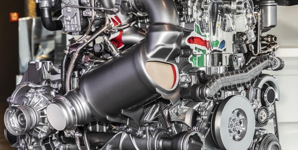 2021 Mercedes AMG Engine