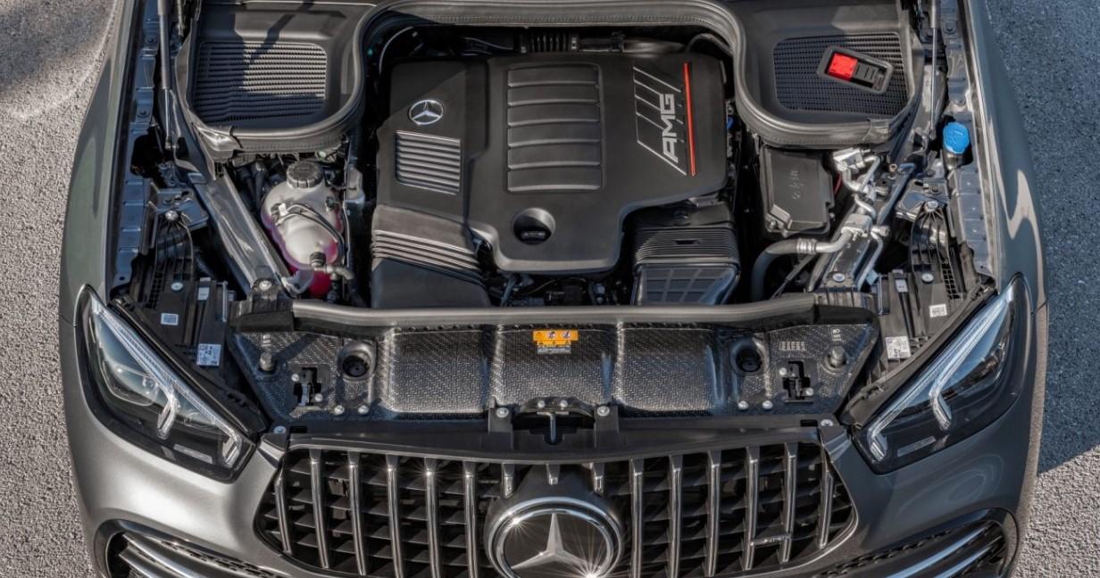 2021 Mercedes-AMG GLE 53 Engine