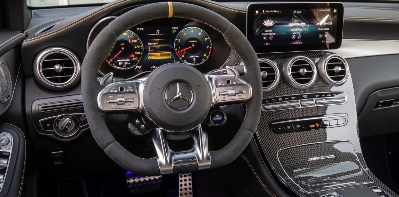 2021 Mercedes AMG Interior