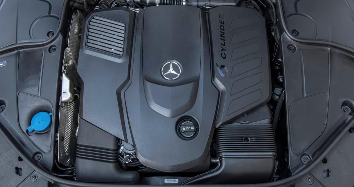 2021 Mercedes Benz S Class Engine
