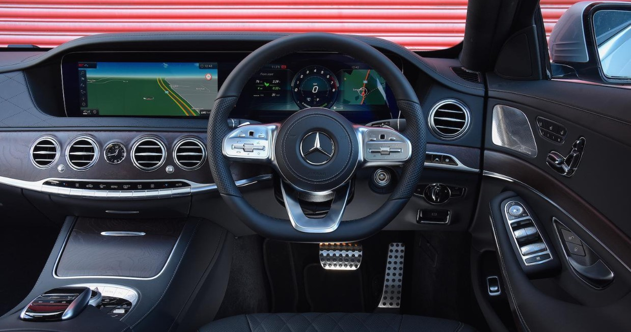 2021 Mercedes Benz S Class Interior