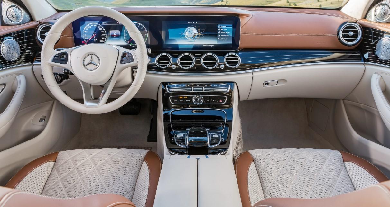 2021 Mercedes E Class Interior