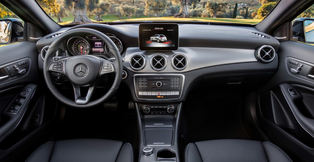 2021 Mercedes GLA Interior