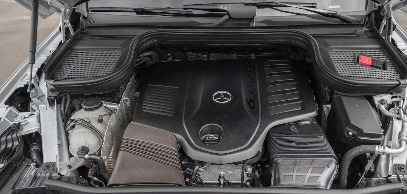 2021 Mercedes GLE Coupe Engine