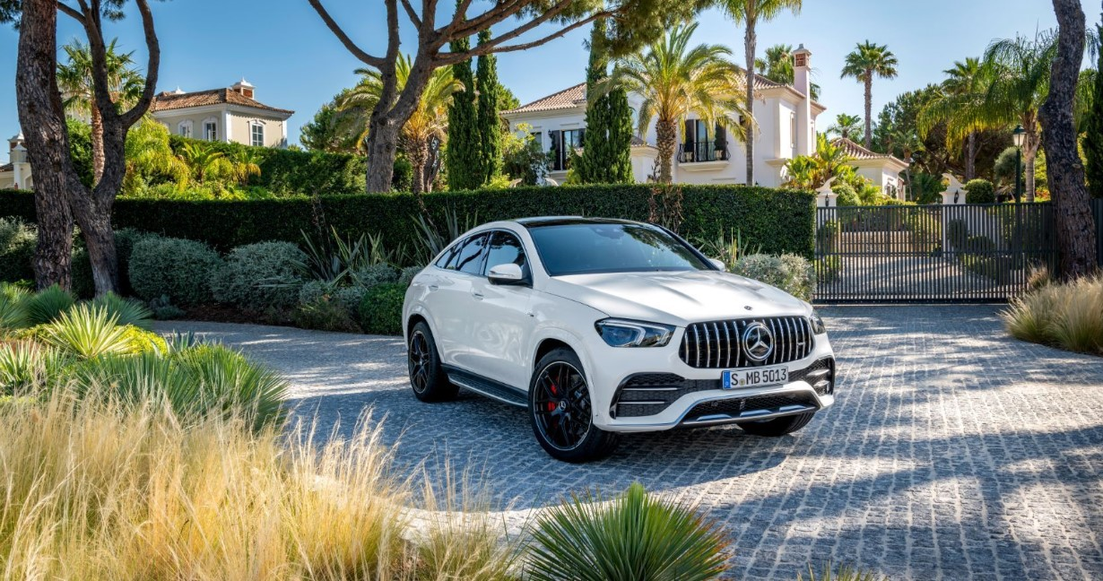 2021 Mercedes GLE Coupe Exterior