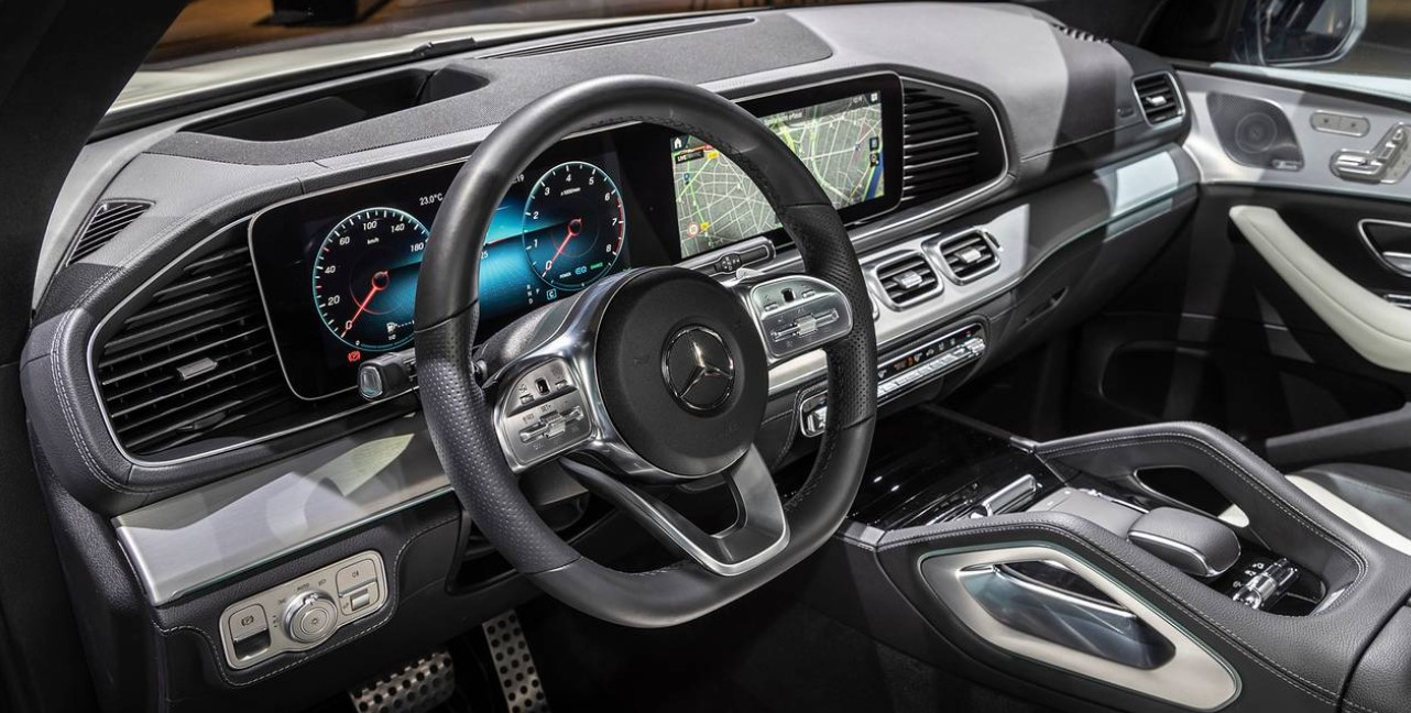2021 Mercedes GLE Coupe Interior