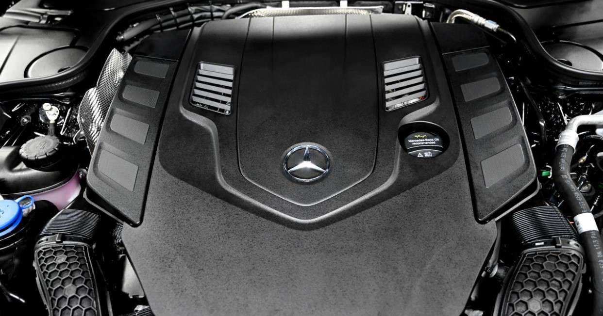 2021 Mercedes S Class Coupe Engine