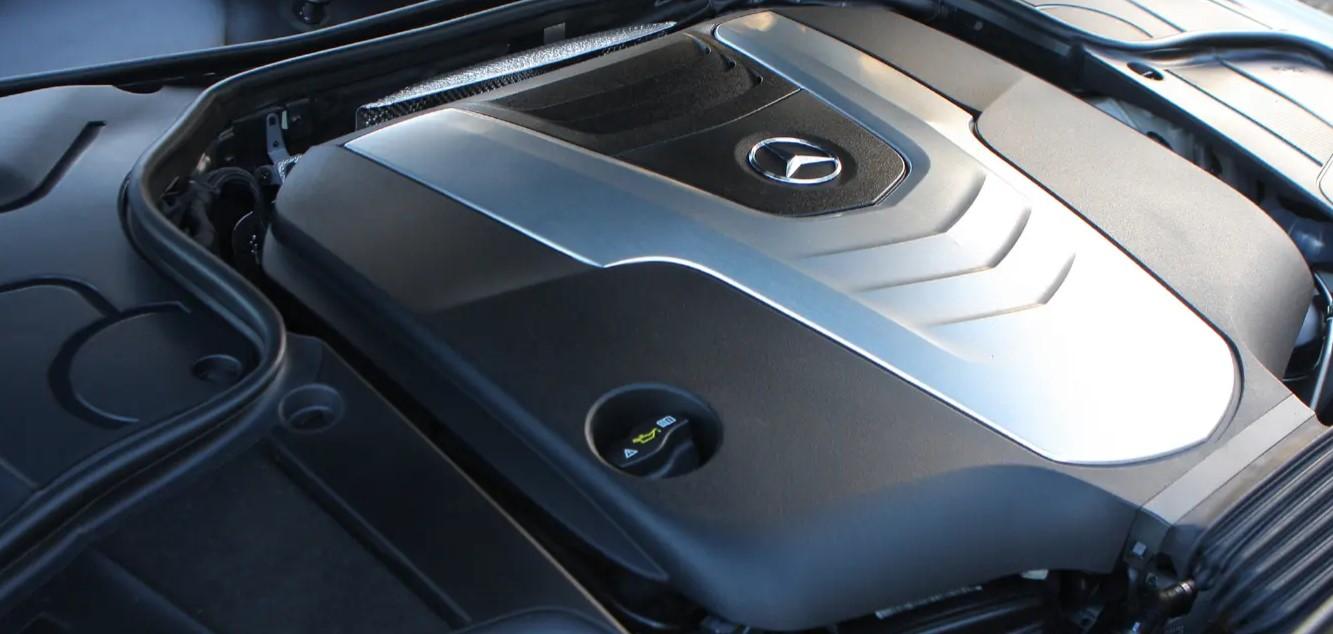 2021 Mercedes S Class Engine