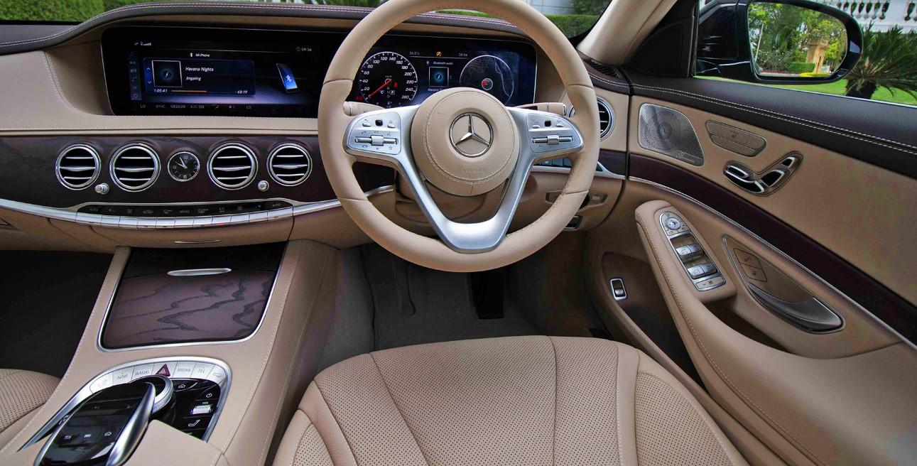 2021 Mercedes S Class Interior