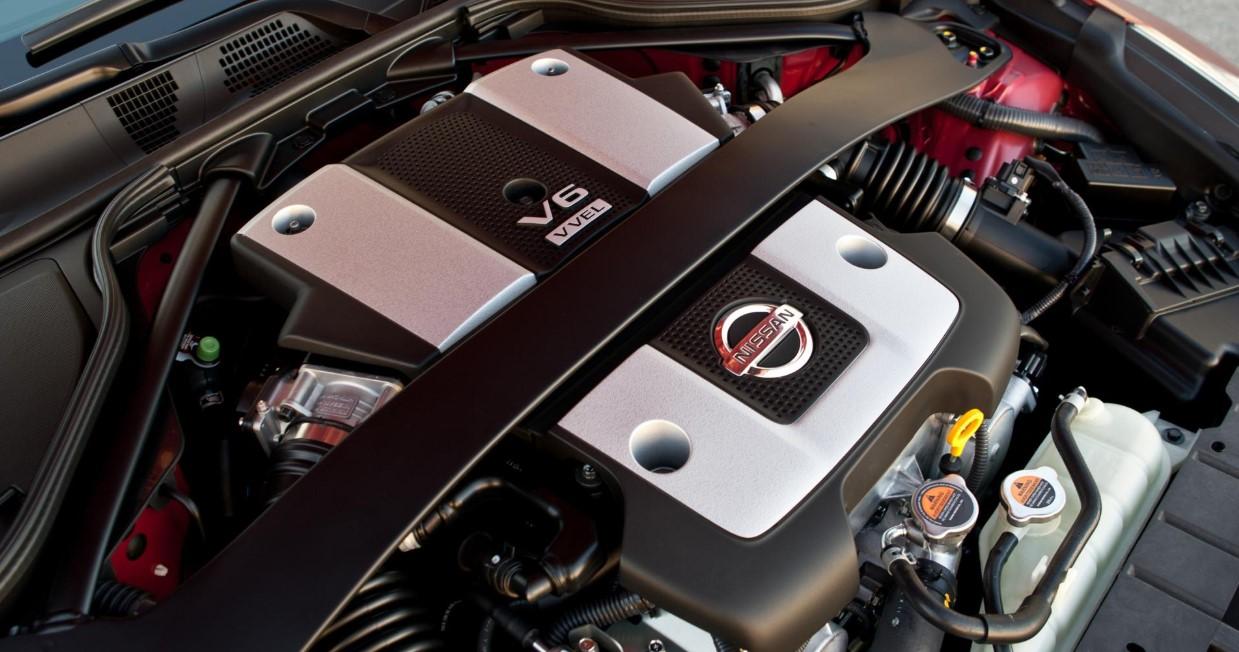 2021 Nissan 400Z Engine