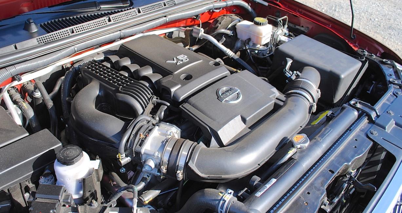 2021 Nissan Frontier Pro 4X Engine