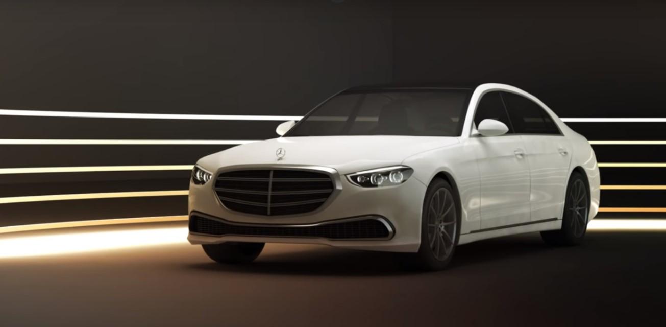 2021 S Class Mercedes Exterior