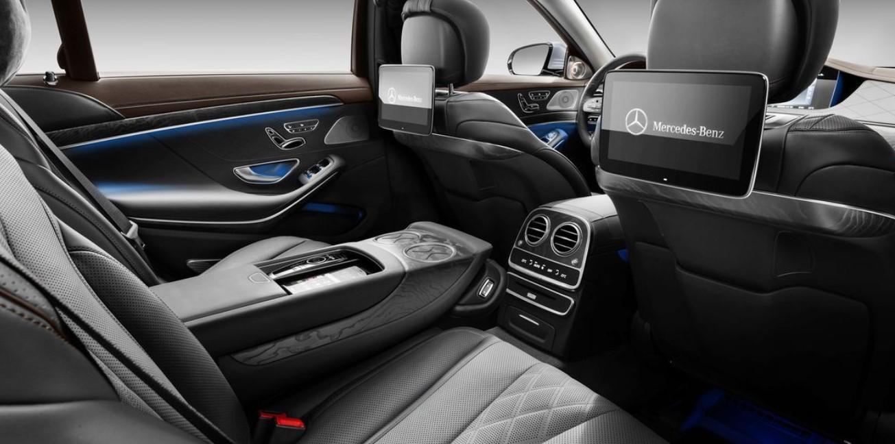 2021 S Class Mercedes Interior