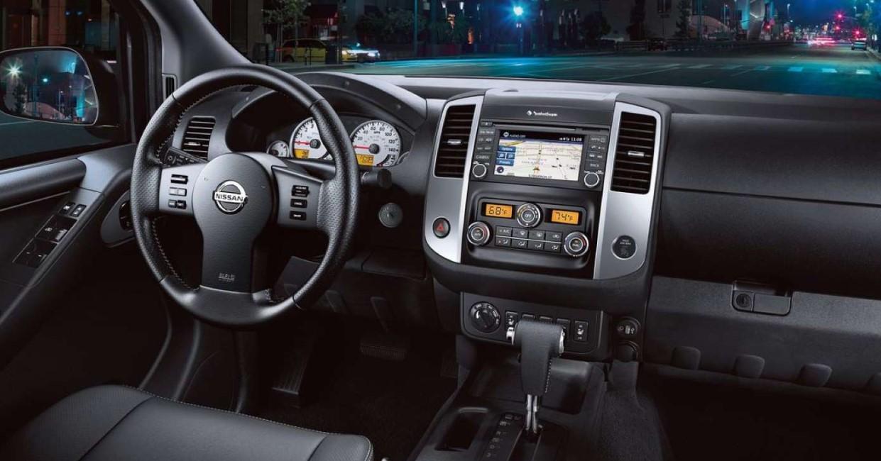 Nissan Frontier 2021 Interior