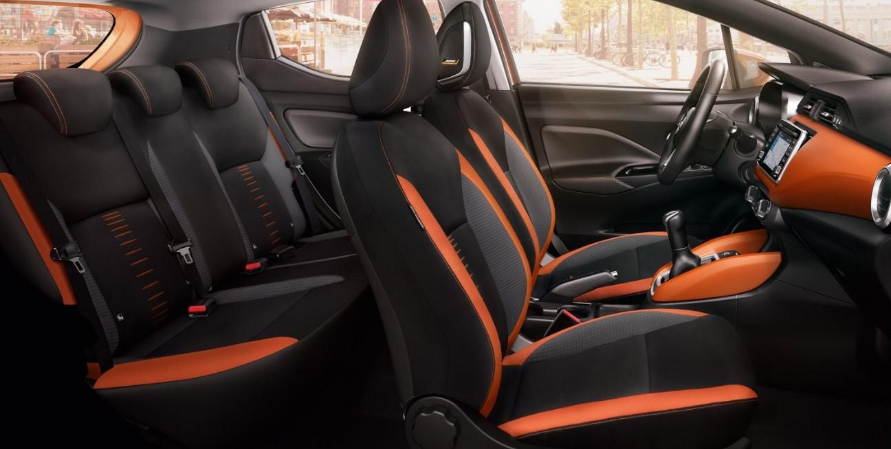 Nissan Micra 2021 Interior