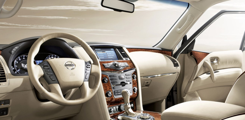 Nissan Patrol 2021 Interior