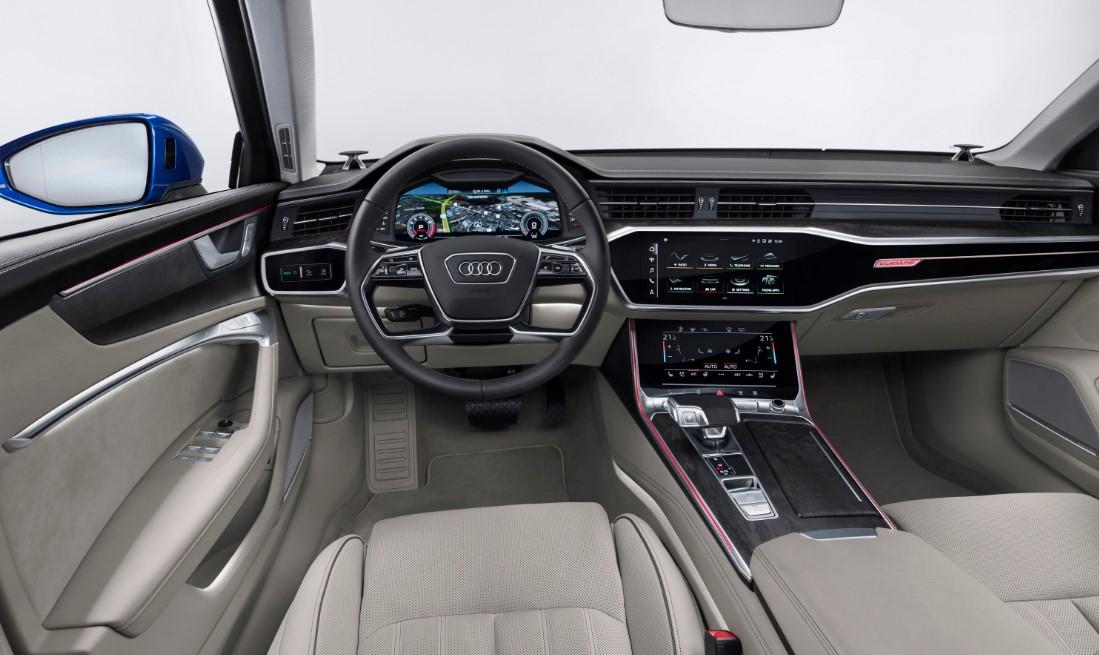 2020 Audi Sport EV Interior