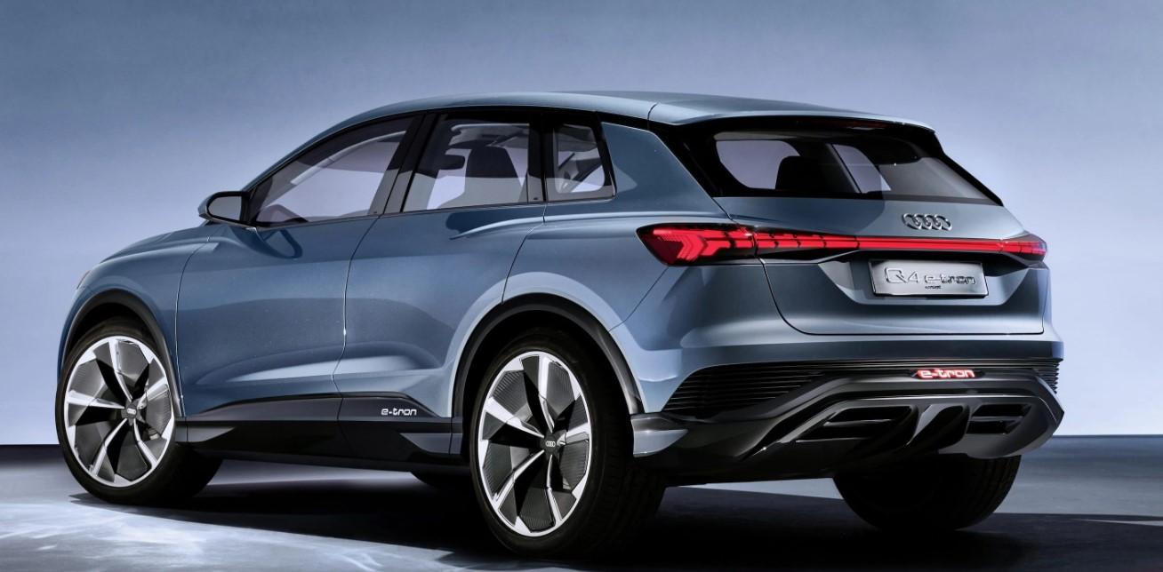 2020 Audi E Tron SUV Engine