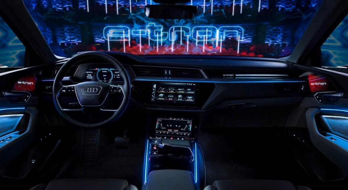 2020 Audi E Tron SUV Interior