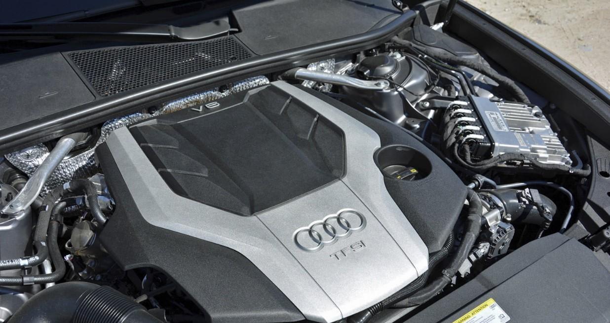 2020 Audi S6 Engine
