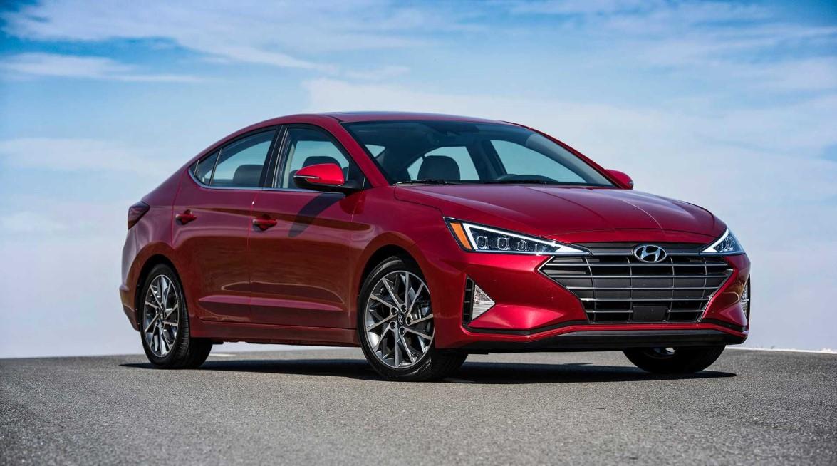 2020 Hyundai Elantra Sport Exterior