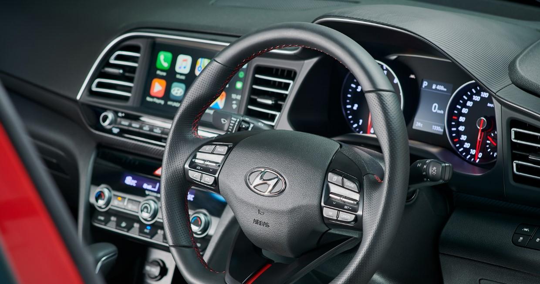 2020 Hyundai Elantra Sport Interior